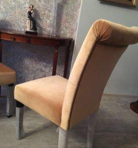 Кресла стулья новые бежевые