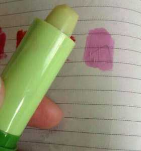 Бальзам для губ меняющий цвет!