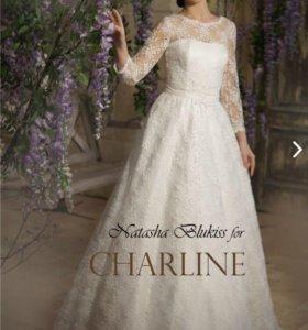 Свадебное платье кружево 42 размер