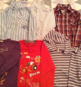 Рубашки и кофты детские