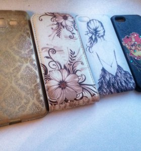 Чехлы на айфон 5s и Samsung Galaxy j3 2016