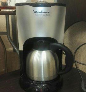 Продам кофеварку Moulinex thermo coffe