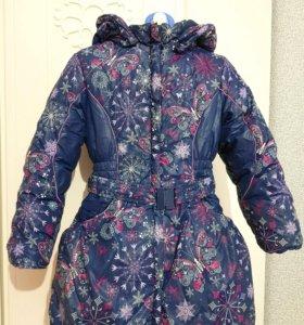 Зимнее пальто KIKO для девочки р.116