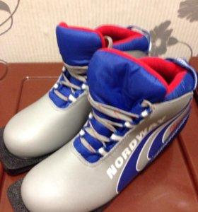 Лыжные ботинки размер 37 новые