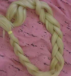 Пряди для плетения кос. Каниколор