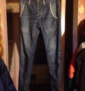 Мужские джинсы и шорты , рр 44 удовлетворительное