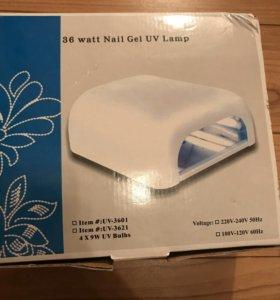 Лампа УФ для ногтей, сушка для шеллака