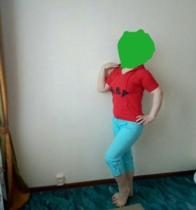 Брюки футболка юбка