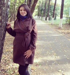 Флисовое пальто для беременных,размер 46-52