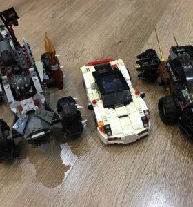 Машинки Лего из фильмов и мультиков