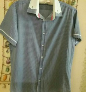 ec52eef3d87 Мужские рубашки в Омске - купить рубашки с длинным и коротким ...