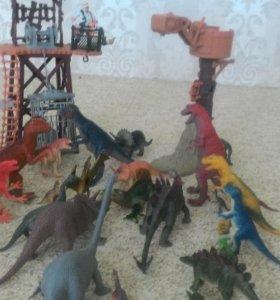 Динозавры, вышки