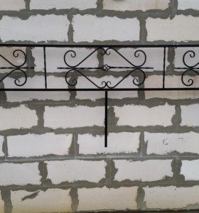 Ритуальные ограды, столики и скамейки