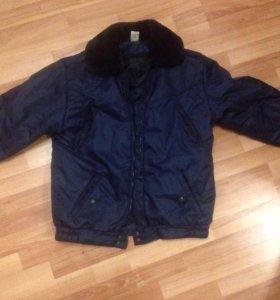Осенняя куртка с подстежкой