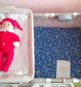 Детский манеж-кровать!!!