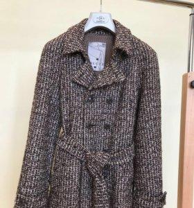 Пальто Италия, натуральная шерсть