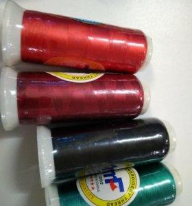 Нитки шелковые для вышивки и сережек