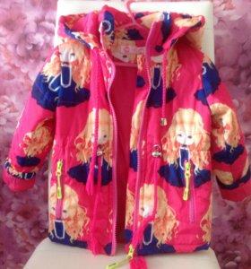 Курточка на прохладную весну, 92-98