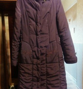 Куртка—пальто на синтепоне