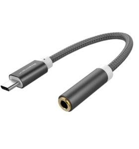 Переходник Type-C/Audio 3.5мм для наушников
