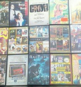 Диски с фильмами.