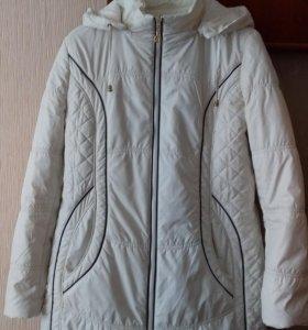 Куртка тонкая на синтепоне, весна-осень