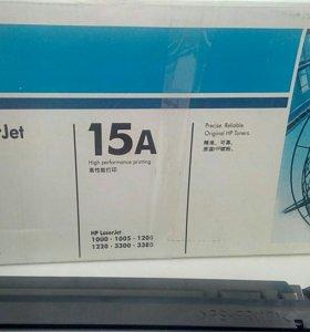 Новый оригинальный Картридж для HP laser jet 15 A