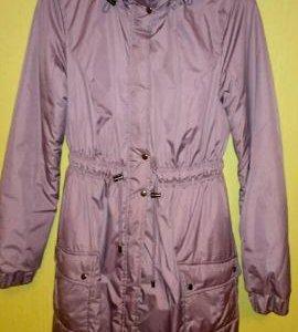 Утепленное пальто для беременных р.42-44