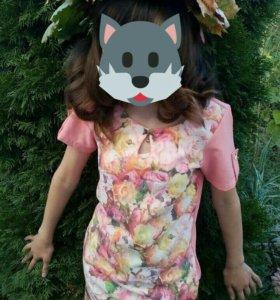 Платье для девочки рост 140