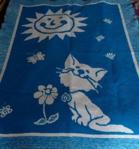 Байковое детское одеяло