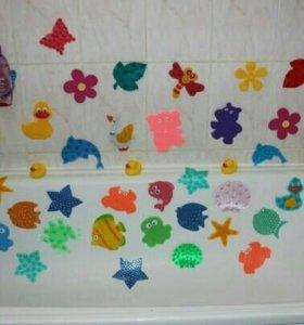 Продам новые мини коврики в ванну