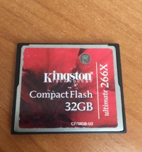 Compact Flash 32Гб - kingston