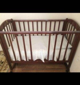 Кровать детская массив Лель