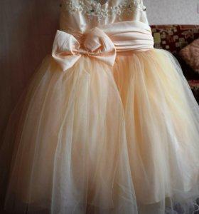 Шикарное платье для маленькой принцессы