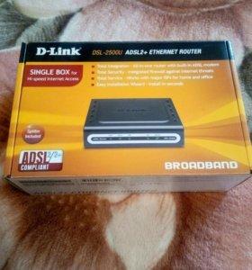 ADSL2+ модем D-Link DSL-2500U