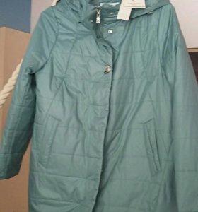 Новая куртка весна 50р