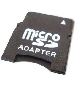 Переходники для карт памяти MINI SD