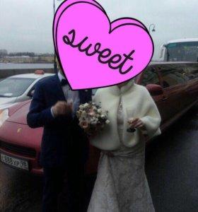 Шуба свадебная /накидка