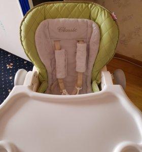 Детский стульчик для кормления Happy Baby Classic