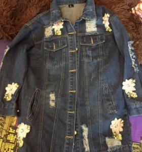 Новая джинсовая куртка 🔥