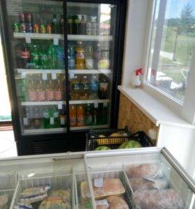 Холодильники,стелажи,морозильник