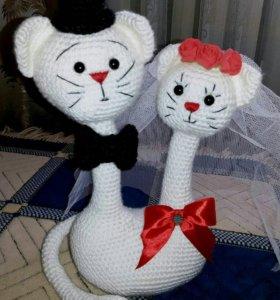 Свадебная котопарочка