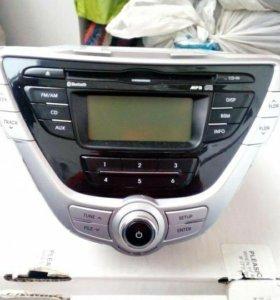Магнитола на Hyundai Elantra, Avante MD дорестайл