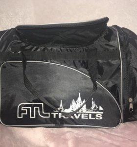 Дорожная сумка, большая, новая