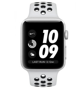Apple Watch S3 Nike+ 42mm Silver (б/у)