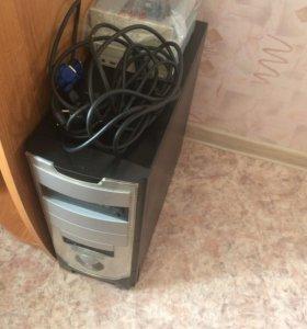 Системный блок+2 дисковода