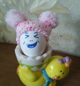Шапочки для кукол или яиц на Пасху