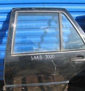 Двери задние Сааб saab 9000 L+ R б. у