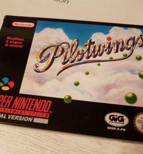 SNES игра Pilotwings новая Super Nintendo Pal