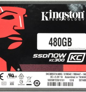 SSD Kingston kc300 480gb